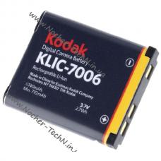 Аккумулятор Kodak KLIC-7006 для фотоаппарата EasyShare M522, Zoom FZ51, MD30, Mini и др.