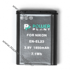 Аккумулятор для фотоаппарата Nikon EN-EL23 1850mAh Coolpix P600, P900, S810c и др.
