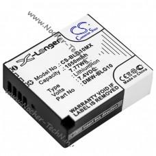 Аккумулятор DMW-BLG10 1050mAh для фотоаппарата Panasonic Lumix DMC-GF6, LX100, TZ81, TX1, GX80