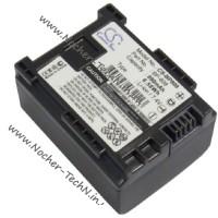 Аккумулятор Canon BP-808 890mAh для видеокамеры VIXIA HF G10, S20, HFS30, HG21, XA20