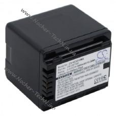 Аккумулятор Panasonic VW-VBT380 3400mAh повышенной емкости для видеокамер HC-V520M, V210, W580