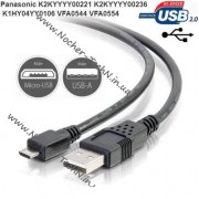Кабель Panasonic K2KYYYY00236 micro USB для видеокамеры HC-V770, WX970, W850, HX-WA20