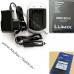Зарядное устройство для аккумулятора Olympus LI-70b, Panasonic DMW-BCH7E от сети и авто