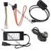 Кабель переходник адаптер USB 2.0 на IDE SATA 2.5 3.5 HDD, (для винчестеров 3.5 или 2.5) с блоком питания