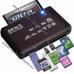 Картридер для карт памяти 10 в 1 microSD, SDHC, Olympus xD-Picture, Sony M2, MS Duo