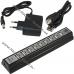 USB хаб 2.0 на 10 портов с блоком питания, hub концентратор скоростной