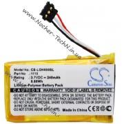 Аккумулятор для гарнитуры-наушников Logitech HEADSET H600, 240mAh