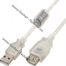 Кабель USB 2 метра удлинитель для флешки, веб-камеры, жесткий диск и др. гаджетов