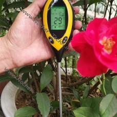 Ph-тестер почвы 4 в 1 KCB-300, измеритель кислотности, освещенности, влажности  и температуры грунта.