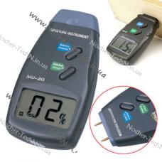 Влагомер древесины MD-2G цифровой, измеритель влажности древесины, бумаги и пр.